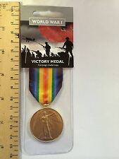 Victory Ww1 Full Size Repro Medal 1918 World War 1 One Heroes History Class BN