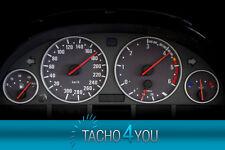 Tachoscheiben für BMW 300 kmh Tacho E39 Diesel Carbon 3355 Tachoscheibe km/h X5