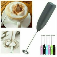 Electric Milk Whisk Frother Mini Handheld Egg Beater Mixer Foamer Stirrer 1pc