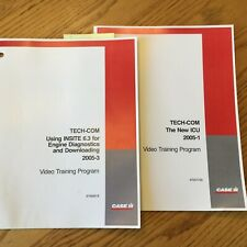 Case International IH TECH-COM NEW ICU USING INSITE 6.3 DIAGNOSTICS GUIDE MANUAL