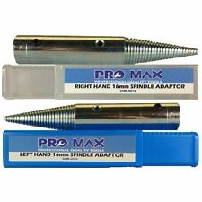 Pro-Max Touret Métal Polissage Broche adaptateurs Set 16 mm - 5/8""