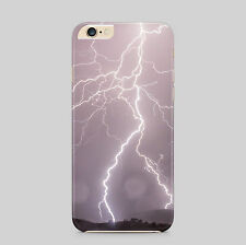Lightning Strikes Storm Weather Phone Case Cover
