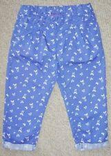 Pantaloni blu per bambine dai 2 ai 16 anni 100% Cotone