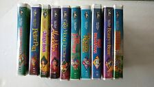 Lot of 10 Walt Disney VHS Black Diamond Classic Movies
