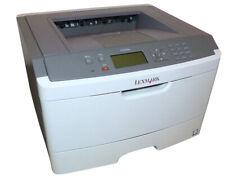 Lexmark Drucker E460DN Laserdrucker Duplex Netzwerk mit Toner 38 S/M 6,5Sek DB