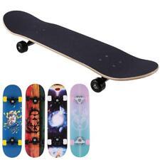 Complete Skate Boards Adult Teens Girls Boys Maple Skateboard for Beginners,