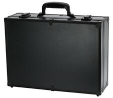 "new TZ CASE PKG-18  ""black""  ALUMINUM UTILITY laptop iPad BRIEFCASE TOOL CASE"