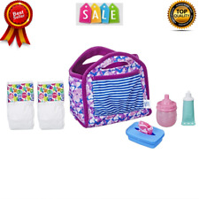 Baby Alive Bag Refill Diaper Doll 4 Fun Accessories Pack All U Need Food Diapers