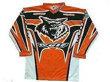 New 5-7 Years Wulfsport Kids Shirt Motocross Quad Orange Ktm Wulf Youth Jersey