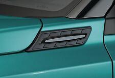NEW Genuine Suzuki VITARA Side Bonnet Wing Garnish 2pc Kit Black 990E0-54P71-ZCE