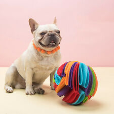New listing Snuffle ball Dog Puzzle Toys Increase Iq Slow Dispensing Feeder Pet Cat Train J2