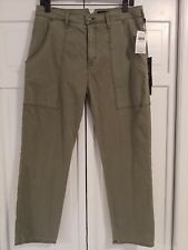 HUDSON JEANS The Leverage High Rise FOST Green Ankle Cargo Pant NWT $195 Sz 29