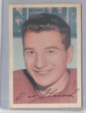 1953-54 Parkhurst Hockey Vic Stasiuk Card # 39 Ex-Mt Condition Set Break