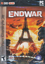 Tom Clancy ENDWAR - US Version - End War Strategy PC Game of Year NEW!