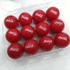 Coca-Cola Red Golf Ball (Pack of 12) - BRAND NEW