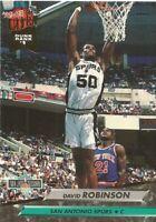 David Robinson Fleer Ultra 1992/93 NBA Basketball Card #201