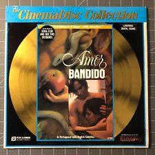 AMOR BANDIDO LASERDISC - LD