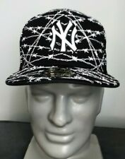 New Era New York Yankees Barbwire Fitted Cap 59Fifty Size 7 1/8 Aaron Judge MLB