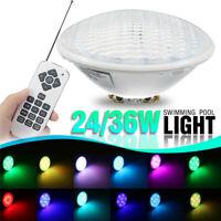 24/36W RGB LED Unterwasserscheinwerfer Poolbeleuchtung Schwimmbad