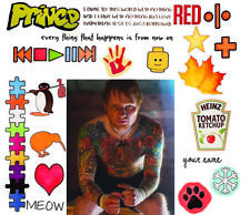 Ed Sheeran Temporary Tattoos | Skin Safe | MADE IN THE USA
