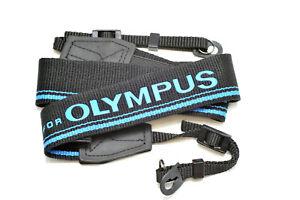 Kood High Quality Retro Style DSLR Camera Neck Strap Blue & Black for Olympus