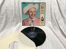 LP – JIM REEVES / LIVE AT THE OPRY / NM
