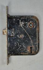 Vintage Mortise Lock Set Used