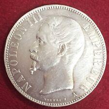 5 FRANCS NAPOLEON III TETE NUE 1856  A ETAT TTB  VOIR N°430