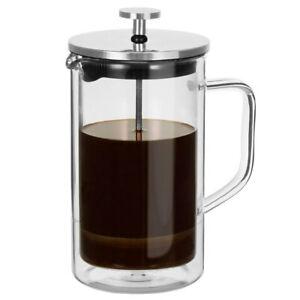 Avanti Capri 350ml Double Wall French Coffee Plunger/Press Glass Maker Clear/SL