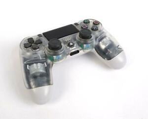 Sony CUH-ZCT2U Official Duel Shock 4 PlayStation 4 Controller Transparent - WORK