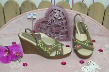 """Chaussures Sandales occasion femme """" Nothing Else """" ... Pointure : 38"""