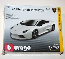 Burago - LAMBORGHINI REVENTON (White) METAL KIT Model Scale 1:24