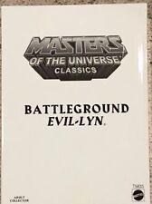 Masters Of the Universe Classics Battleground Evil-Lyn Action Figure MOTUC MOTU