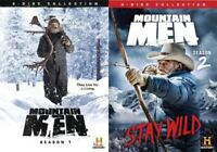 Mountain Men Season 1 + 2 Series One Two Region 4 DVD New