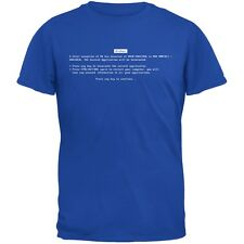 Blue Screen Of Death Royal Youth T-Shirt