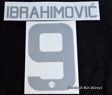 Manchester United Ibrahimovic 9 2016/17 Europa cup football shirt Name set Third