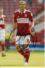 Middlesbrough mano firmato Kevin THOMSON 6x4 Foto.