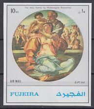 Fujeira 1972 ** Mi.1530 B Gemälde Paintings Michelangelo