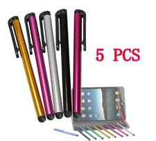 5Pcs Metal Stylus Touch Screen Pen For iPad iPhone Samsung Tablet PC iPod   WOAU