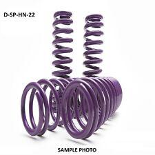 "D2 PRO Lowering Springs 06-11 Honda Civic Si LX EX DX 2.0""F/2.0""R - D-SP-HN-22"