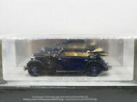 Spark S1054 1937 Mercedes Benz 320 D Cabriolet Blue 1:43 New