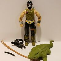 G.I. Joe ARAH 1987 CROC MASTER Action Figure Complete Hose NEAR PERFECT MINT++!!
