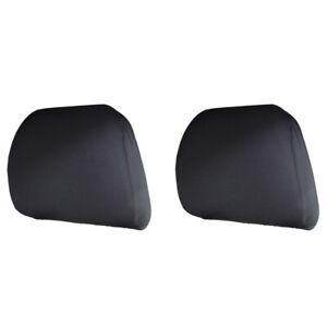 Stück Schwarz Kopfstützenbezüge für Auto Van Bus Kopfstützenbezug