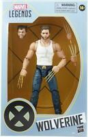 "Hasbro Marvel Legends X-Men Wolverine 6"" Action Figure Exclusive White Vest New"