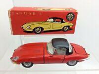 Vintage Boxed Tekno Kirk Red Jaguar E-Type 1:43 Scale - Made in Denmark