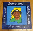 Mississippi John Hurt Original Painting Framed Blues Musician Outsider Folk Art