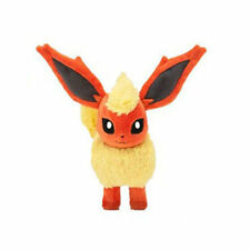 New Pokemon Pocket Monster Flareon Plush Toys Soft Stuffed Doll Gift 20cm