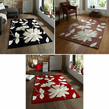 Acrylic Floral Living Room Rugs
