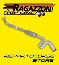 RAGAZZON FLESSIBILE CON CENTRALE INOX FIAT 500 ABARTH 1.4TJET 160CV 50.0250.80