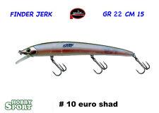 FINDER JERK MOLIX ORIGINALE  150  col # 10 EURO SHAD SPINNING SPIGOLA SERRA